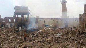 al hadi mosque after bombs