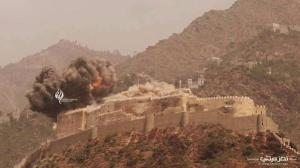 al qahira castle being bombed3