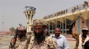 aden airport recaptured